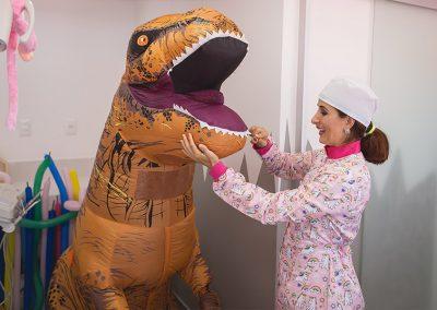 Odontopediatria - Dia do dinossauro