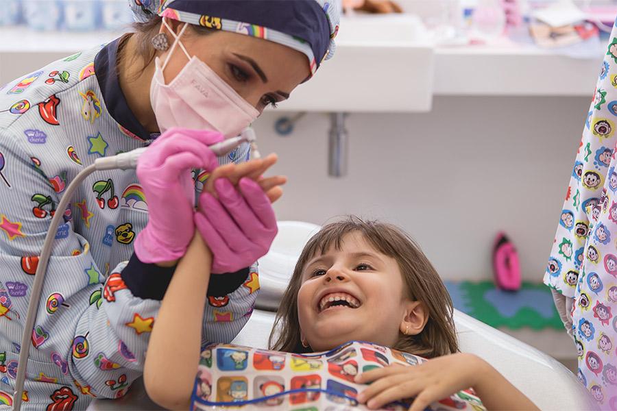 Diversão no consultório odontológico